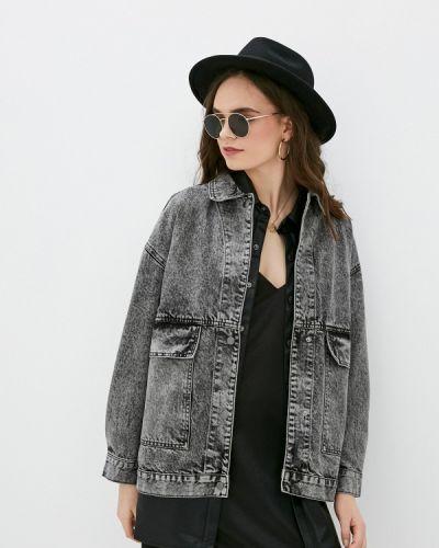 Серая джинсовая куртка Befree