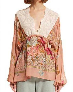 Блузка розовая Semicouture