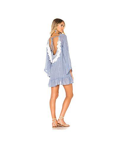Платье мини с бисером Sundress