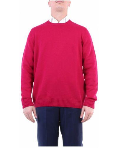 Różowy sweter Drumohr
