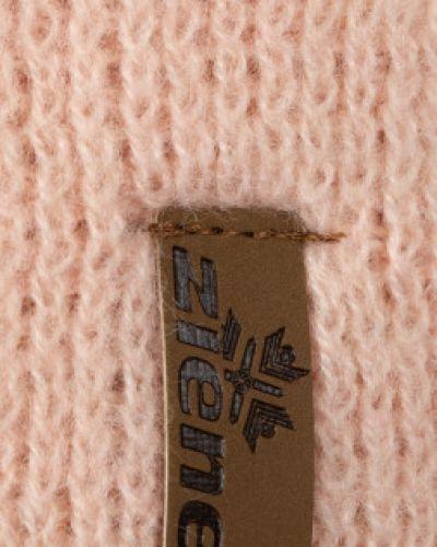 Вязаная шапка - розовая Ziener