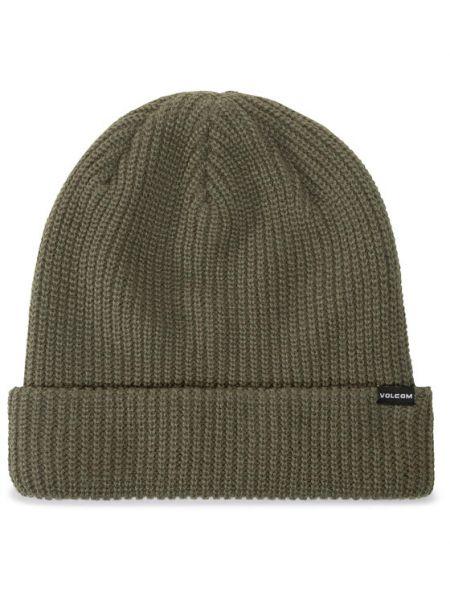 Zielona czapka Volcom