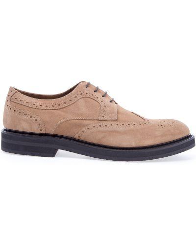 Кожаные ботинки броги Eleventy