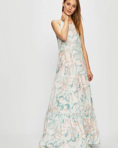 Расклешенное платье - белое Review