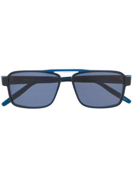 Прямые муслиновые солнцезащитные очки квадратные хаки Puma