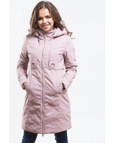 Пальто из полиэстера - розовое Grace