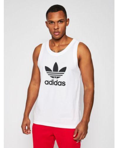 Biały top Adidas