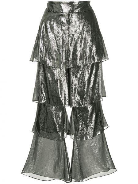 Spodnie z jedwabiu Osman