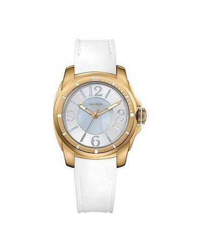 Часы с люминесцентными стрелками с силиконовым ремешком Tommy Hilfiger