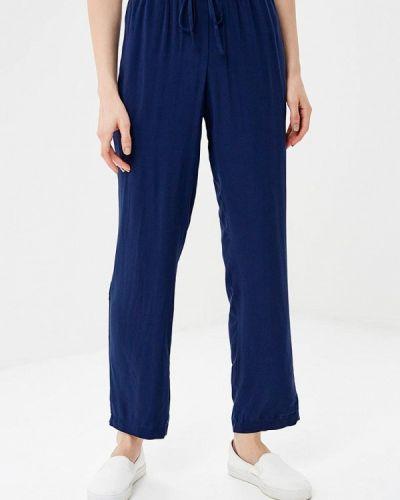 Синие брюки прямые Iwie