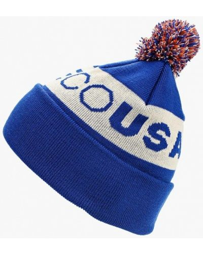 Синяя шапка осенняя Dc Shoes