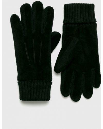 Skórzany rękawiczki zamsz akryl Medicine