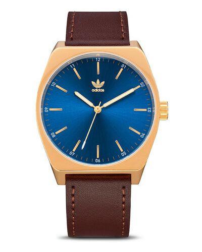Brązowy zegarek Adidas