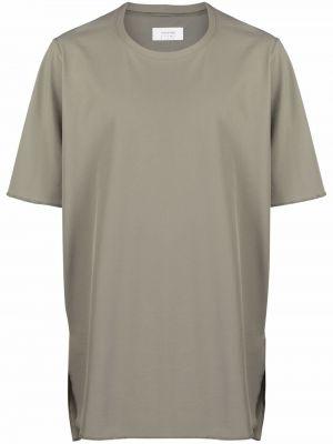Zielona t-shirt krótki rękaw z printem Acronym