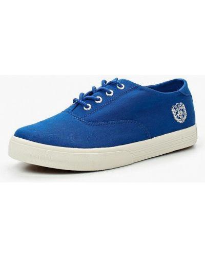 Синие низкие кеды U.s. Polo Assn.