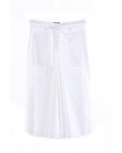 Białe spodnie Marco Bologna