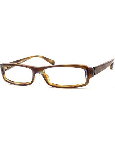 Brązowe okulary Alain Mikli