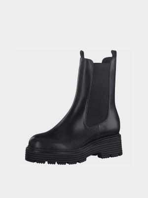 Ботинки челси - черные Tamaris