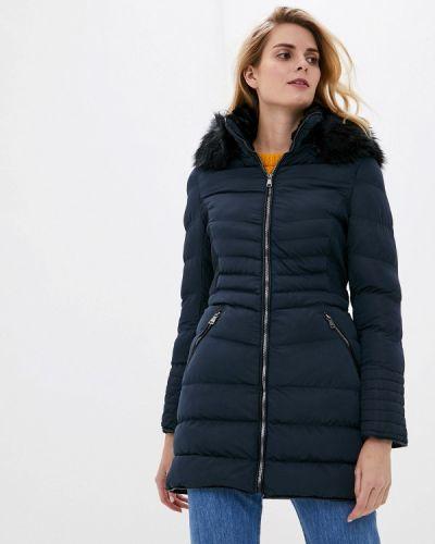 Теплая синяя куртка Softy