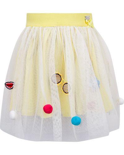 Хлопковая юбка - желтая Byblos