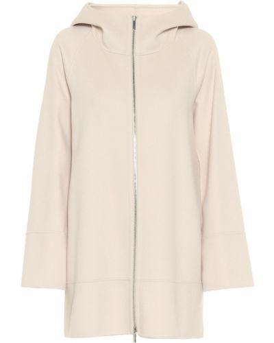 Шерстяная бежевая теплая куртка 's Max Mara