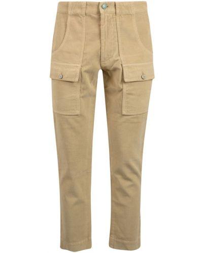 Spodnie - beżowe Palm Angels
