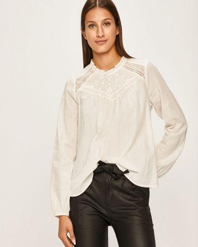 Блузка однотонная с вышивкой Answear