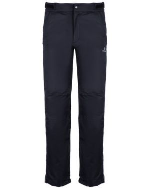 Спортивные черные теплые спортивные брюки для бега Nordway