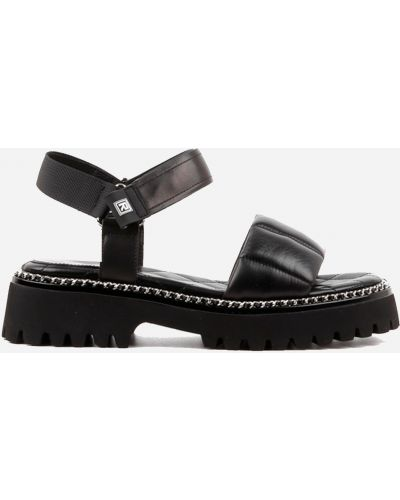 Черные сандалии Leberdes