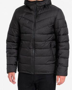 Зимняя куртка утепленная черная Lab Fashion