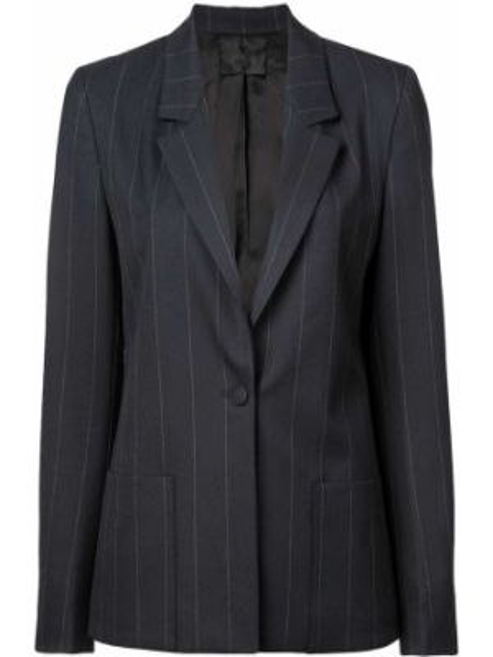 Куртка на пуговицах синий Rta