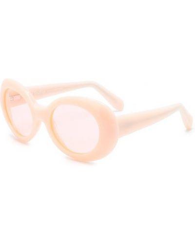 Розовые солнцезащитные очки Acne Studios