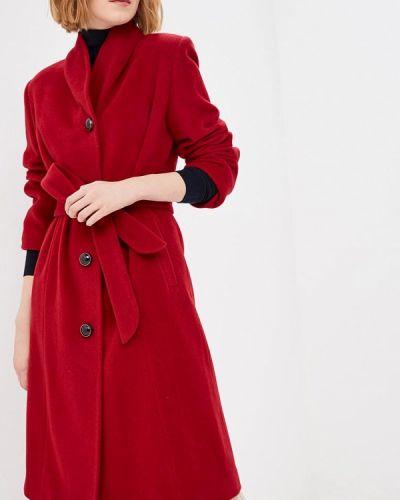 Пальто демисезонное бордовый Doroteya