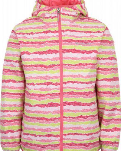 Утепленная куртка с капюшоном спортивная с мехом Columbia