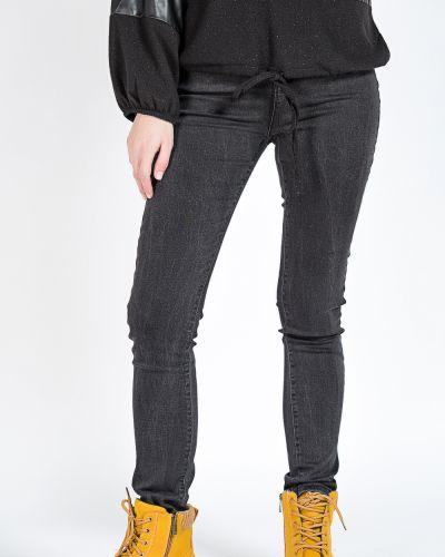 Хлопковые джинсы - серые Denim
