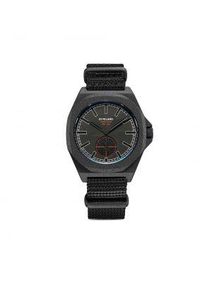 Кварцевые часы - черные D1 Milano