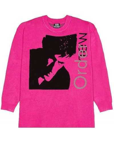 Sweter - różowy Pleasures