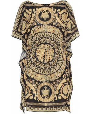 Кафтан черный Versace