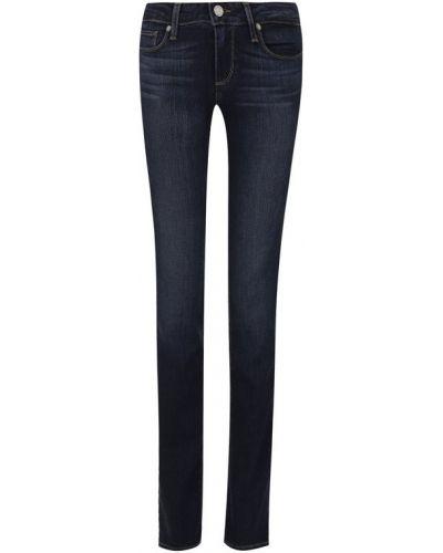 Прямые джинсы скинни с эффектом потертости Paige