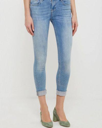 Голубые джинсы-скинни Silvian Heach