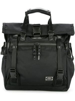 Черная сумка-тоут на молнии As2ov
