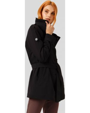 Утепленная куртка черная с подкладкой Finn Flare