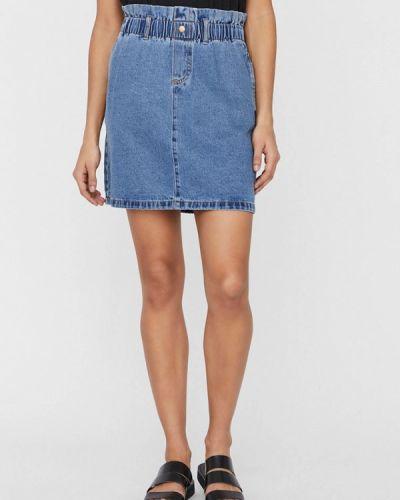Синяя джинсовая юбка Noisy May
