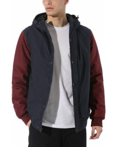 Хлопковая куртка на молнии с капюшоном Vans