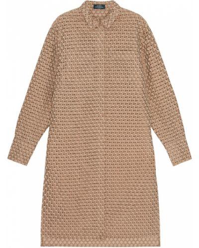 Хлопковая блузка - бежевая Alena Akhmadullina