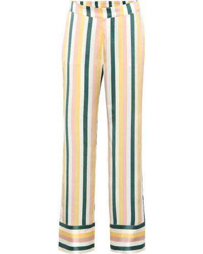 Пижама с брюками шелковая тройка Asceno