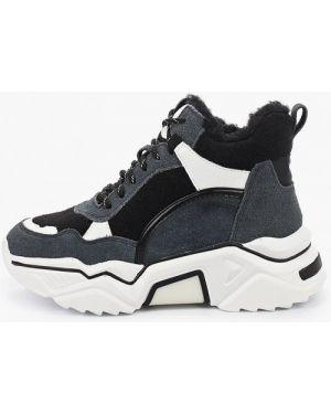 Высокие кроссовки замшевые Mallanee