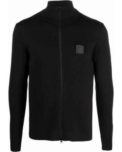 Czarny sweter z akrylu C.p. Company