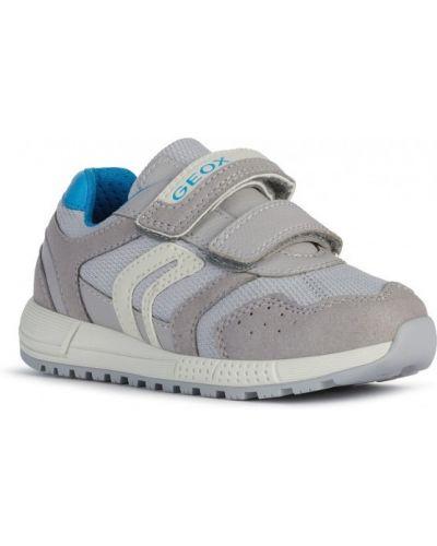 Кожаные кроссовки беговые для бега винтажные Geox