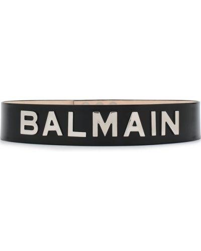 Ремень черный Balmain
